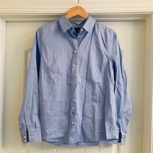 Banana Republic light blue button down